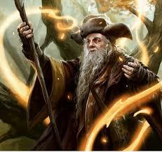 Le bâton du magicien